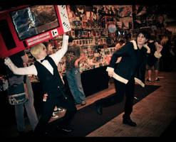 AnimeFest: The Chase by singingaway