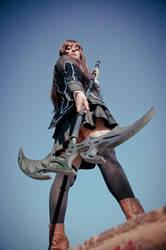 VK: Artemis Rod by singingaway