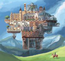 The City of Erizelda by andromoda
