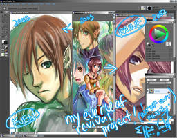 My Everleaf WIP by gem2niki