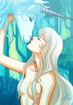 The Last Unicorn by gem2niki