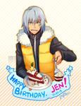 Birthday Gift for Jen-kat by gem2niki