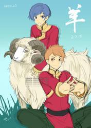 Kaze.Co: Chinese New Year 2015 by gem2niki