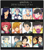 2016 Summary Of Art by gem2niki