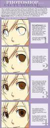 Eyes Cel-shade CG Tutorial by gem2niki