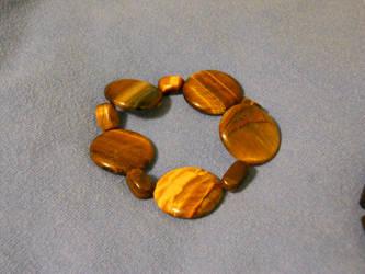 Tiger eye bracelet by crazyemeralddragons