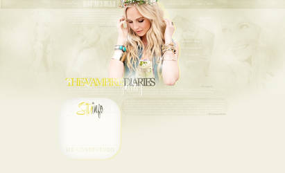 Design ft. Candice Accola by JacqueBiebs