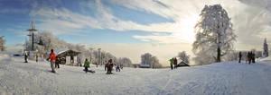 Winter Downhill by BandasPhoto