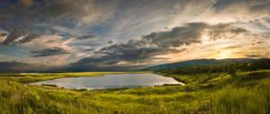 Lake sunset by BandasPhoto