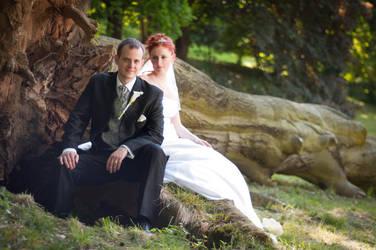 Wedding portrait by BandasPhoto