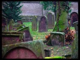 Jewish Graveyard by deadward1555