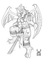 SketchMania: Atman-Ryu by chaos61988