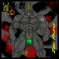 Zak Rhino by chaos61988