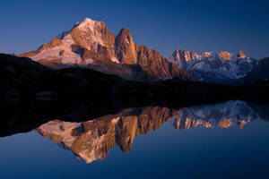 Reflet alpin by vincentfavre
