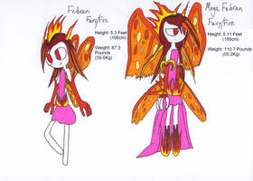 Fakemon Fairy/Fire legendary Pokemon by AndkeAnka