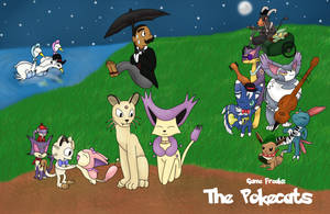 The Pokecats by AndkeAnka