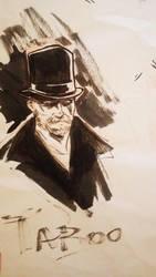 James Delaney quick sketch by lucas-garcia
