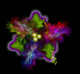 Floral Distortion by WyckedDreamsDesigns