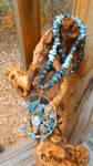Sweet Dreams Tree of Life Necklace by WyckedDreamsDesigns