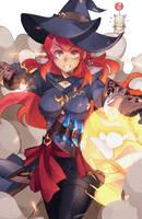 Final Fantasy XIV Thaumaturge FanArt by barneyshux