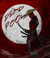 samurai deadpool by chrisawayan
