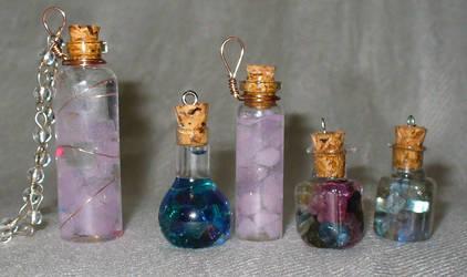 Stuff in Bottles by Vanshira