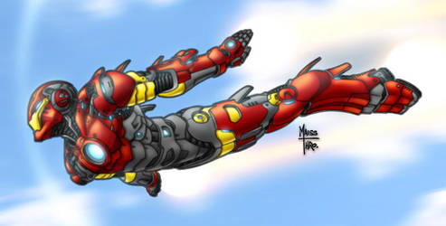 The Invincible Iron-Man by Maiss-Thro