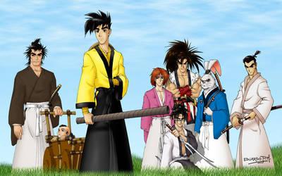 Da Seven Samurai by Maiss-Thro