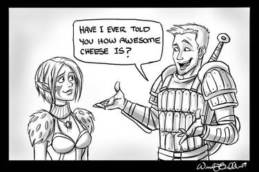 Alistair Loves Cheese by WendyDoodles