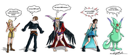 RE4 Meets FF8 by WendyDoodles