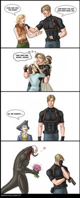 Everyone Loves Leon by WendyDoodles