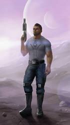 Mass Effect 3. James Vega by Nikki-67
