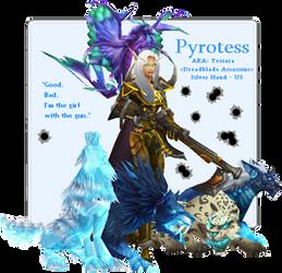 Pyrotess Signature II by The-Faileas