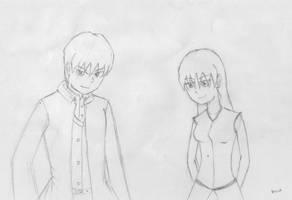 Harker Siblings by KAIZA-C