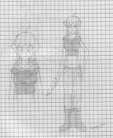 Gun Toting Girl by KAIZA-C