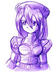 sketch of Iris by liline