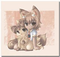Tanika_Kurini f. Shineymagic by Midna01