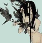 Birdhair by appledust