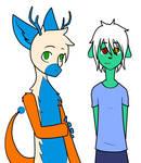 Bo and Kana Children by xZethanyx