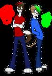Edward and William McBach by xZethanyx
