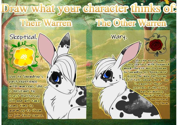 Snowdrop's Thoughts - WFTW Thoughts Meme by xZethanyx