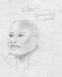 Teal'c - StarGate SG-1 by sgjoli