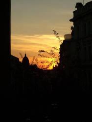 Sunset in Prague by sgjoli
