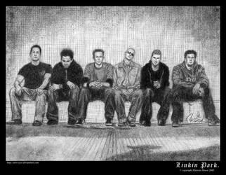Linkin Park- A Band. by the-bad-panda