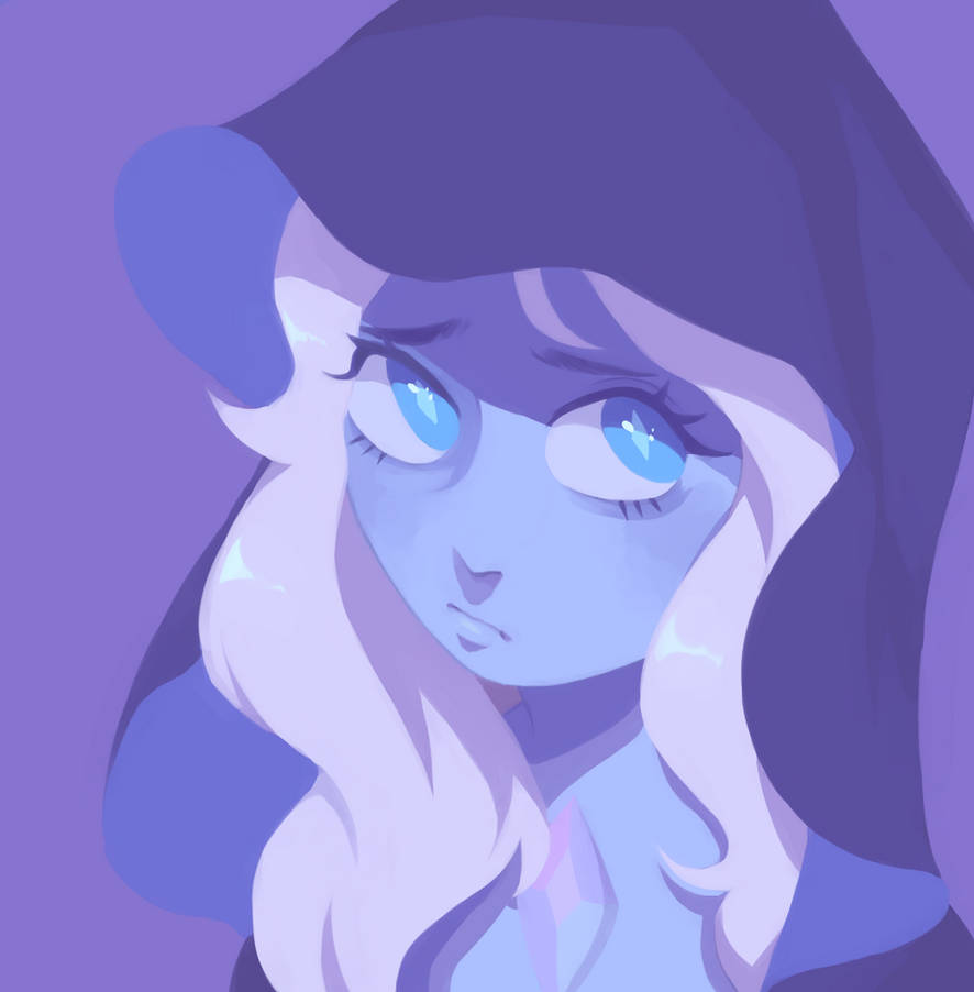 painting of blue diamond from the new SU episode  c: steven universe