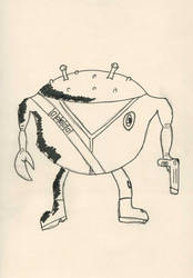 Crabby Jack- Strontium Dog by Hawkmonger