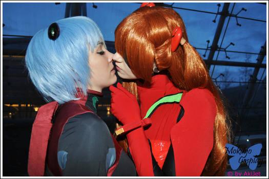 NGE: Just kiss me! by Mokuyo
