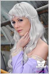 The last Unicorn: Lady Amalthea I by Mokuyo
