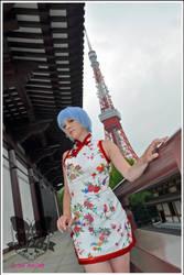 NGE: Rei Ayanami - Qipao I by Mokuyo