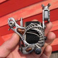 cool tattoo machine by tattoopink